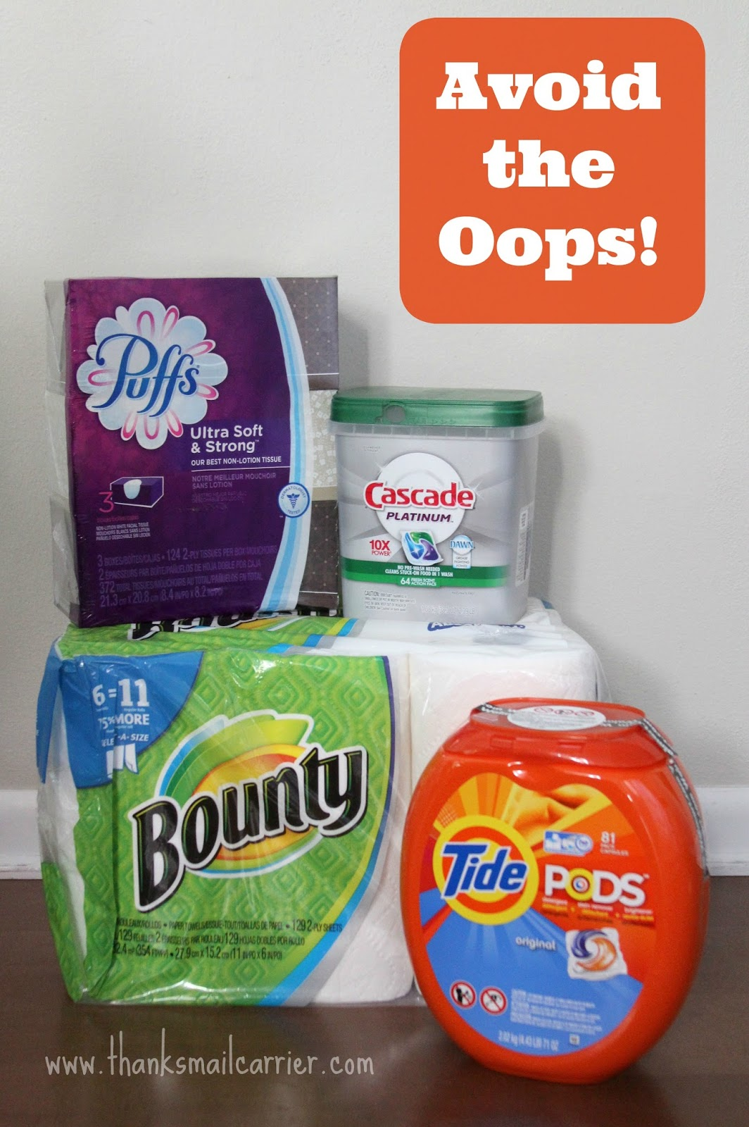 P&G at Walmart #AvoidtheOops