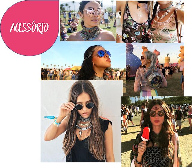 Coachella 2017- Acessorio
