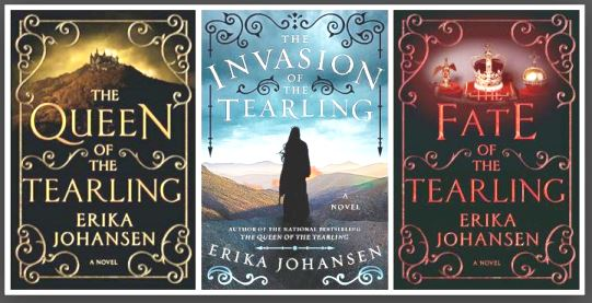 The Queen of the Tearling series by Erika Johansen - Fantasy Trilogy