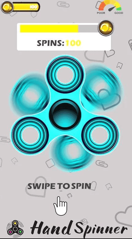Free fid spinner app for Android Thetic Blog