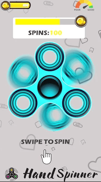 Free fidget spinner app for Android