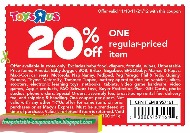 Toys r us coupons bikes printables
