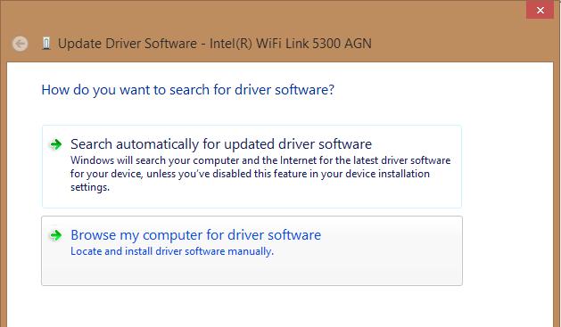 wifi link 5300 agn drivers