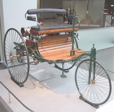 Kenderaan Praktikal Pertama Karl Benz