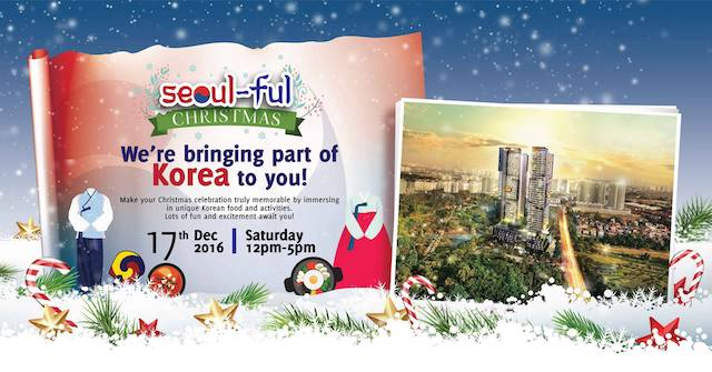 'Seoul-Ful Christmas' Korean Festival on the 17th of December