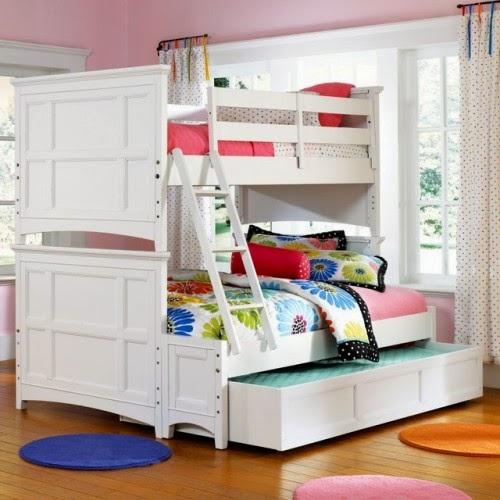 desain kamar anak kembar tingkat