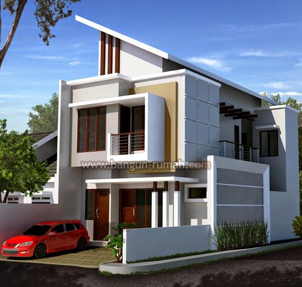 Rumah Minimalis Lebar 10 Meter 2 Lantai