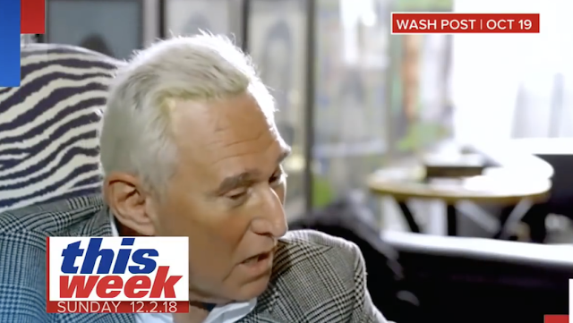 "Roger Stone: No Evidence I Ever Contacted WikiLeaks; ""I Engaged In Politics"""