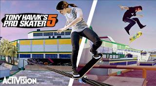 Tony Hawk's Pro Skater 5 (XBOX360) 2015 JTAG/RGH