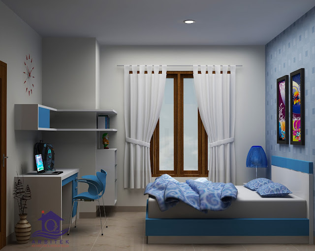 Desain Interior Kamar Anak di Solo Baru