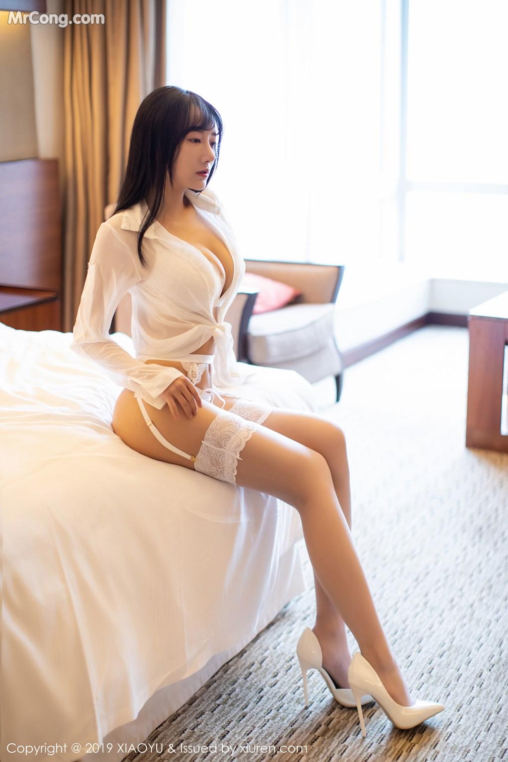 Image XiaoYu-Vol.076-He-Jia-Ying-MrCong.com-007 in post XiaoYu Vol.076: He Jia Ying (何嘉颖) (72 ảnh)