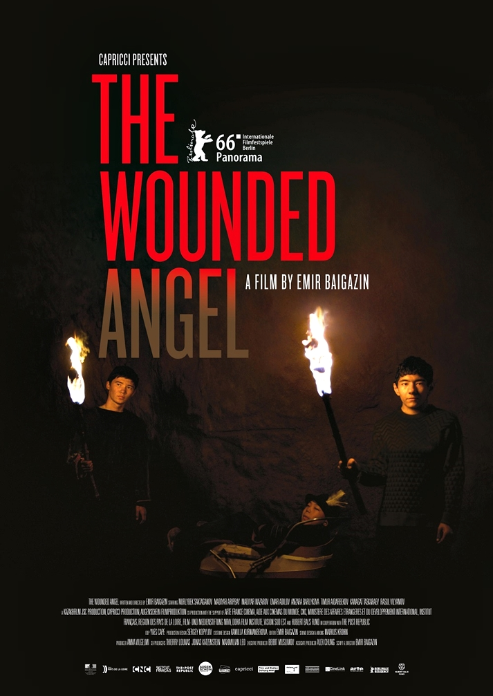 Póster: The wounded angel