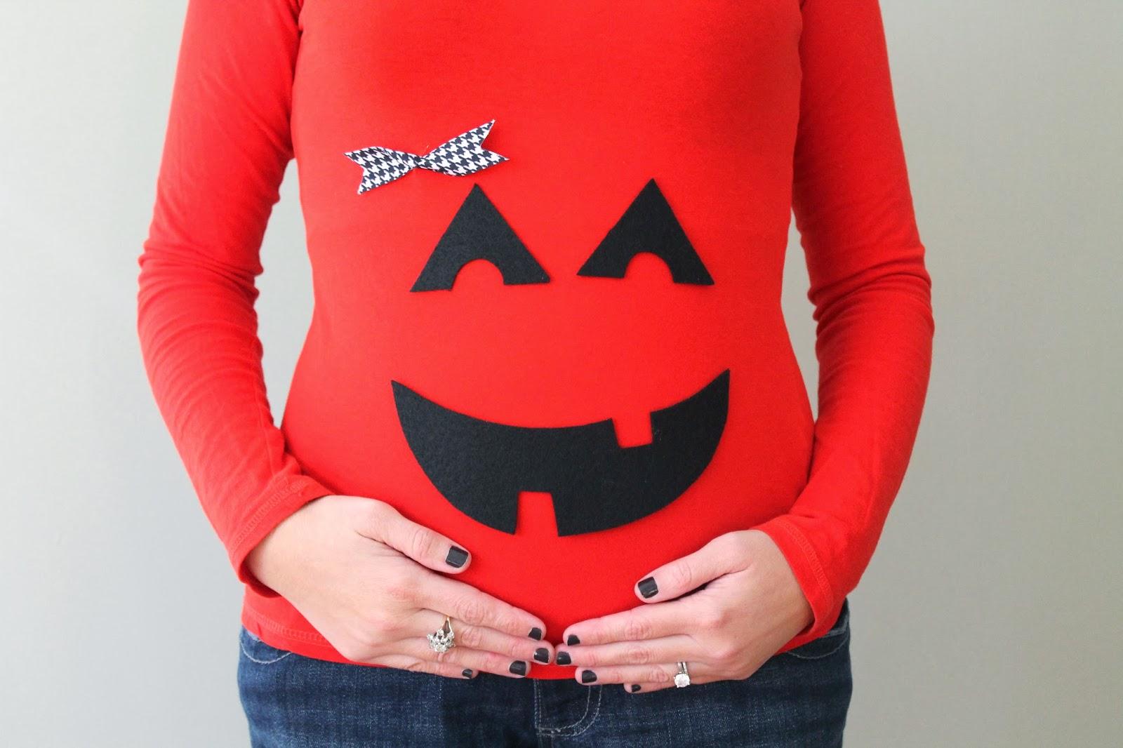 DIY Pumpkin Shirt