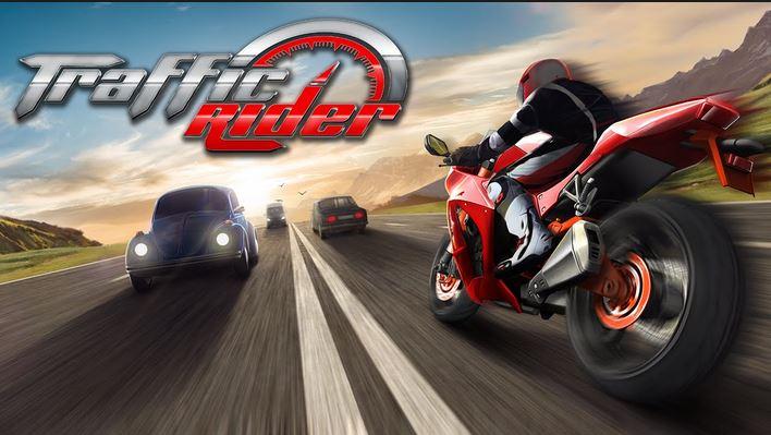 یاری بۆ ئهندرۆید Traffic Rider Apk Mod