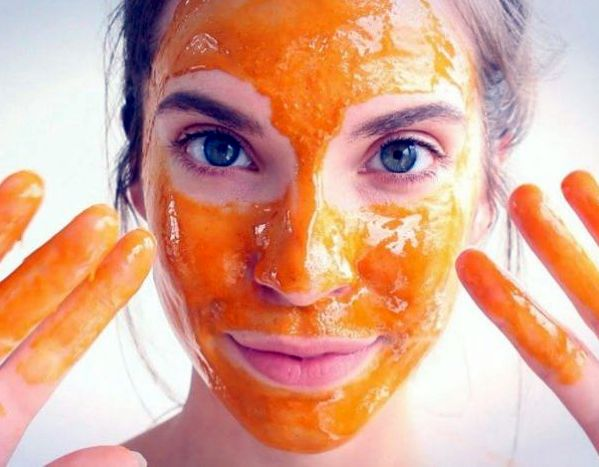 masker alami dari wortel