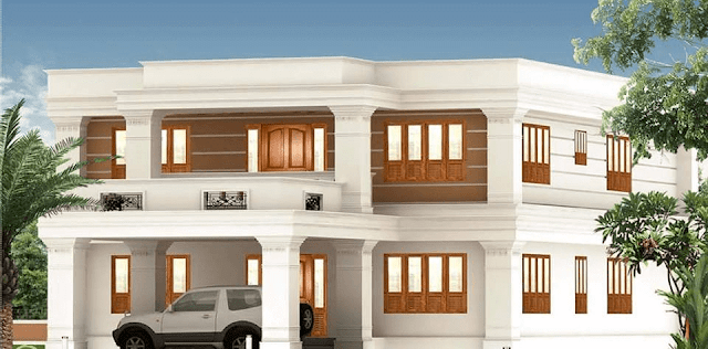 Front Elevation Tiles Models : House front elevation design images photo pics the
