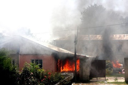 Two Killed, 40 Houses Razed Down as Communities Clash Over Mango