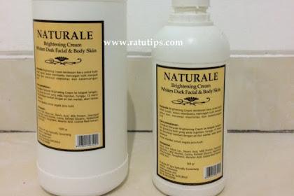 Review Naturale Brightening Cream untuk Kulit Putih dan Sehat