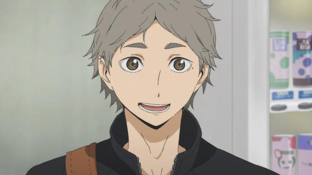 Koushi Sugawara z Haikyuu!!