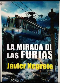 Portada del libro La mirada de las Furias, de Javier Negrete