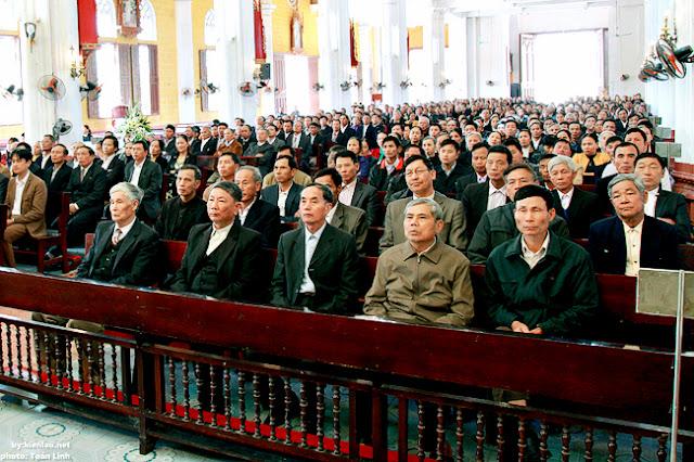 HĐMV giáo hạt Bùi Chu tĩnh tâm