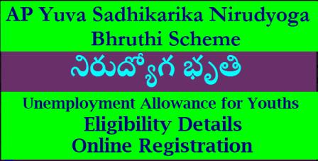 AP Yuva Sadhikarika Nirudyoga Bhruthi Scheme – Unemployment Allowance for Youths- Eligibility Details , Online Registration Process/2018/05/ap-yuva-sadhikarika-nirudyoga-bruthi-scheme-unemployment-benefits-details-2018-online-registration-process-eligibility-apemploymentexchange.com.html