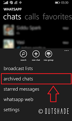 How To Hide Chat In WhatsApp Windows devices