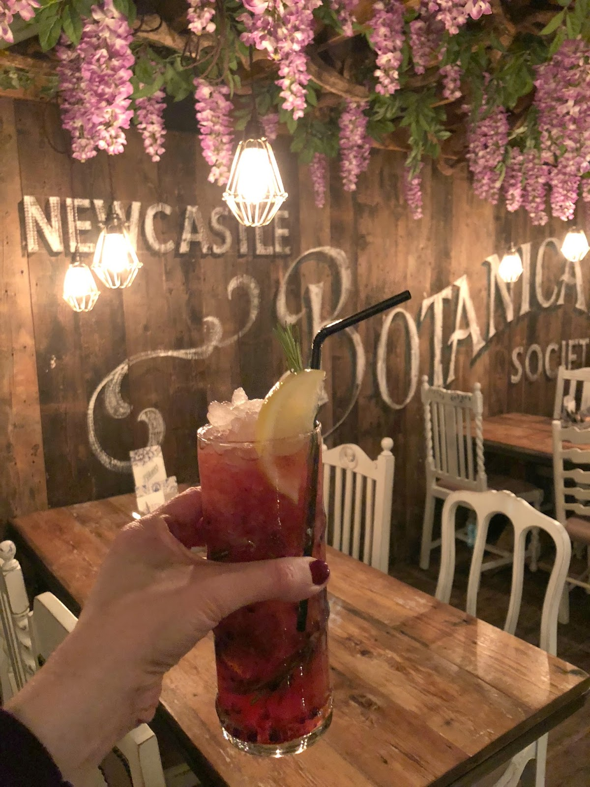 Christmas at the Botanist Newcastle - Mezzanine