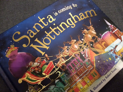 Santa is coming to Nottingham book