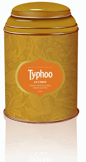 This Rakshabandhan gift your sibling 24 carat Gold flavor of Typhoo