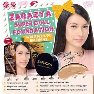 SUPER DOLL FOUNDATION BY ZARA ZYA