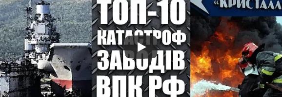 ТОП-10 катастроф на заводах ВПК РФ (2018-2019)