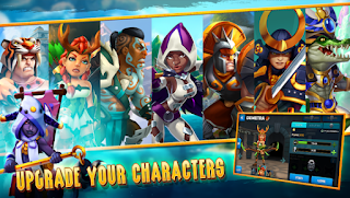Wartide Heroes of Atlantis Apk Mod Unlimited Mana for android