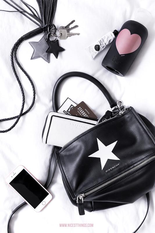 Givenchy Pandora schwarz Stern Flatlay
