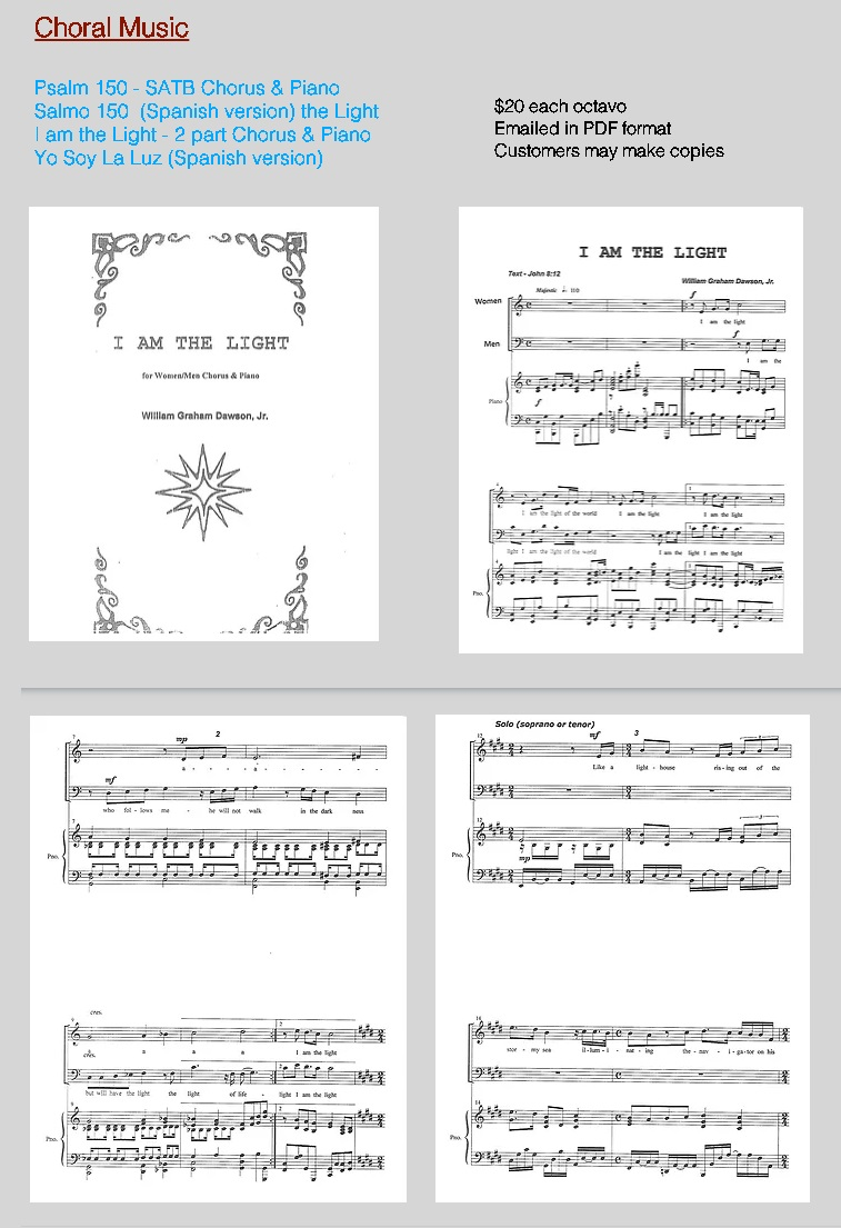 Compositions ( Choral )