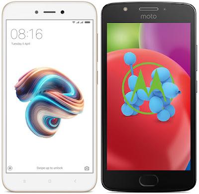 Xiaomi Redmi 5A vs Motorola Moto E4