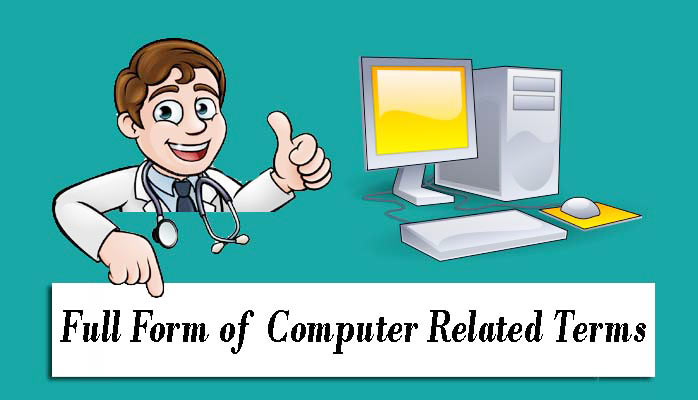 Full Forms of Computer Abbreviations