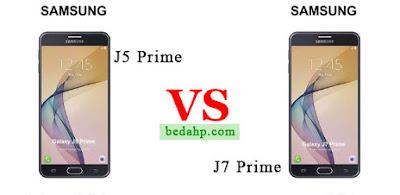Perbedaan Samsung Galaxy J5 Prime VS J7 Prime