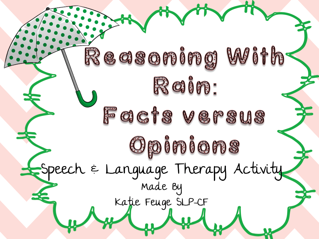 Big Apple Speech Reasoning With Rain Facts Vs Opinion