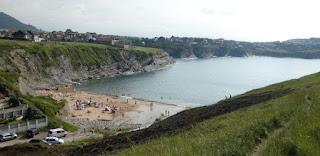Costa Quebrada, Playa del Portío.