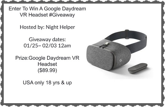 Google Daydream VR Headset Giveaway