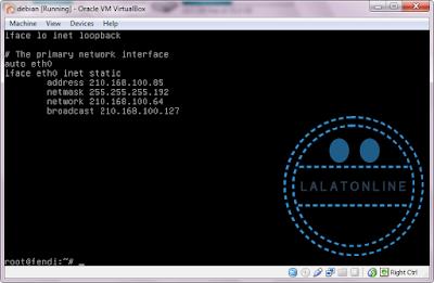 Cara konfigurasi DNS server debian 6, 7, 8