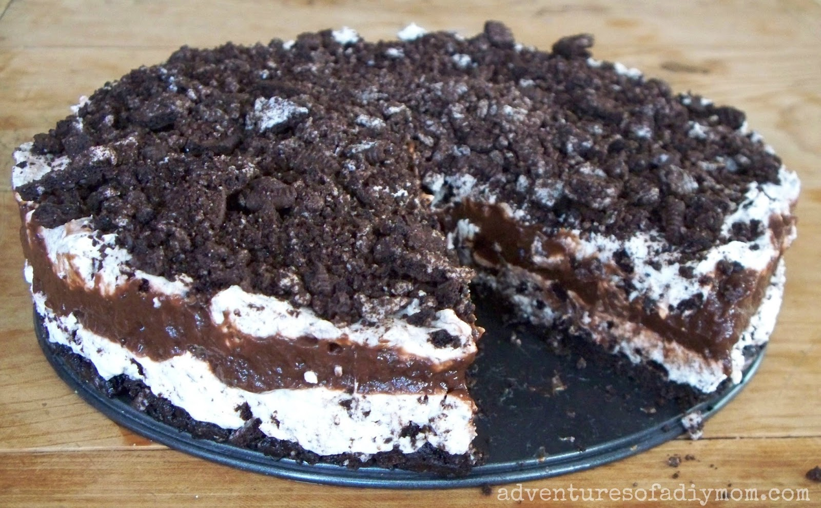 No Bake Oreo Kuchen No Bake Oreo Cheesecake Dessert Adventures Of A Diy Mom