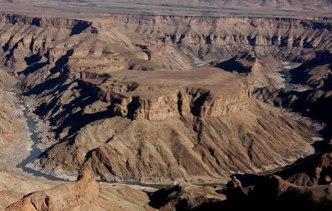 Angle River Canyon, Namibia