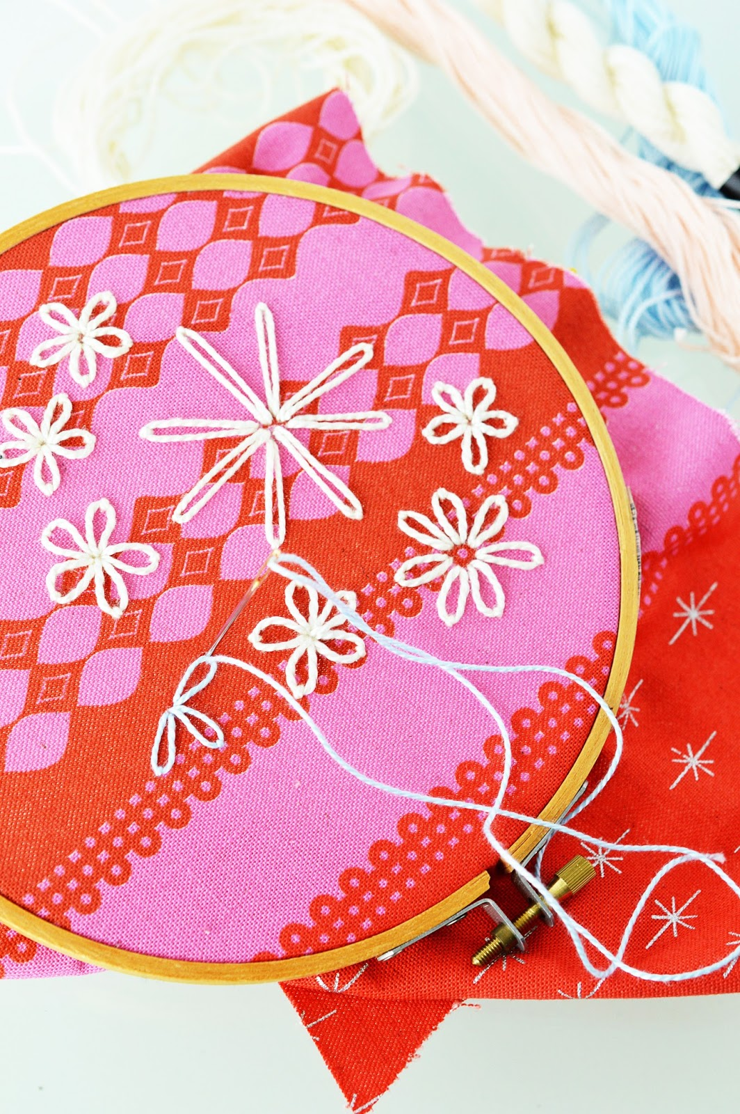 Crafter's Know-How | Embroidery | Lazy Daisy Stitch | Detached Chain Stitch