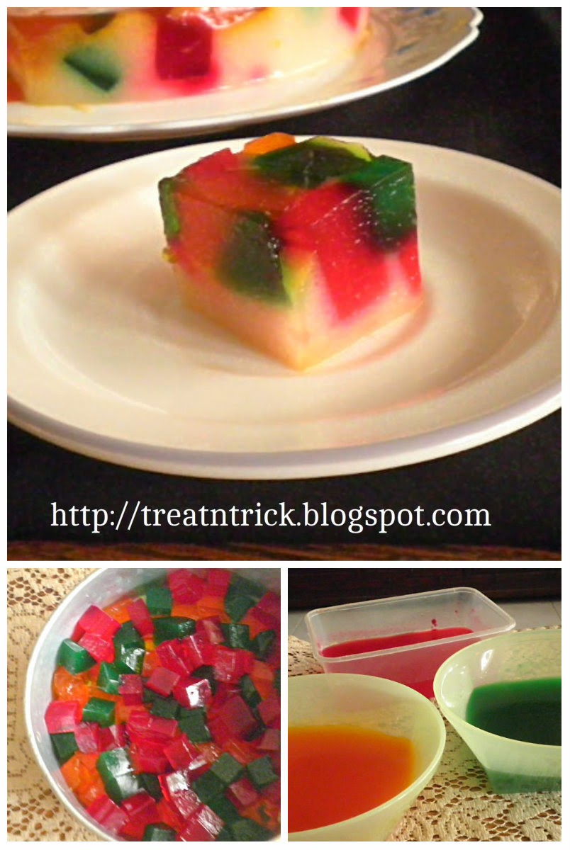 Broken Glass Jelly Recipe @ treatntrick.blogspot.com