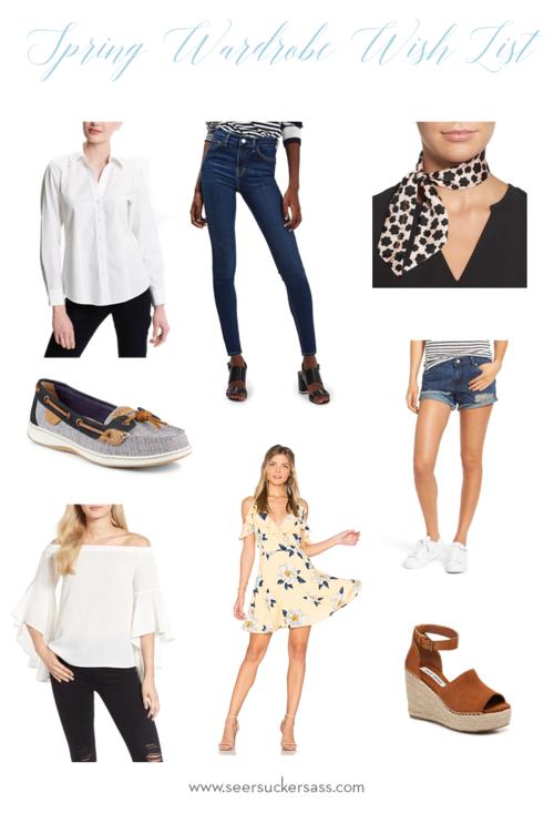 Spring Wardrobe Wishlist