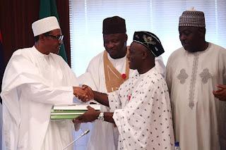 President Buhari signs 2016 Budget