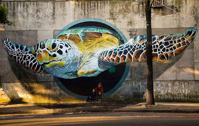 Street Art Stories, the best unauthorized art in the world