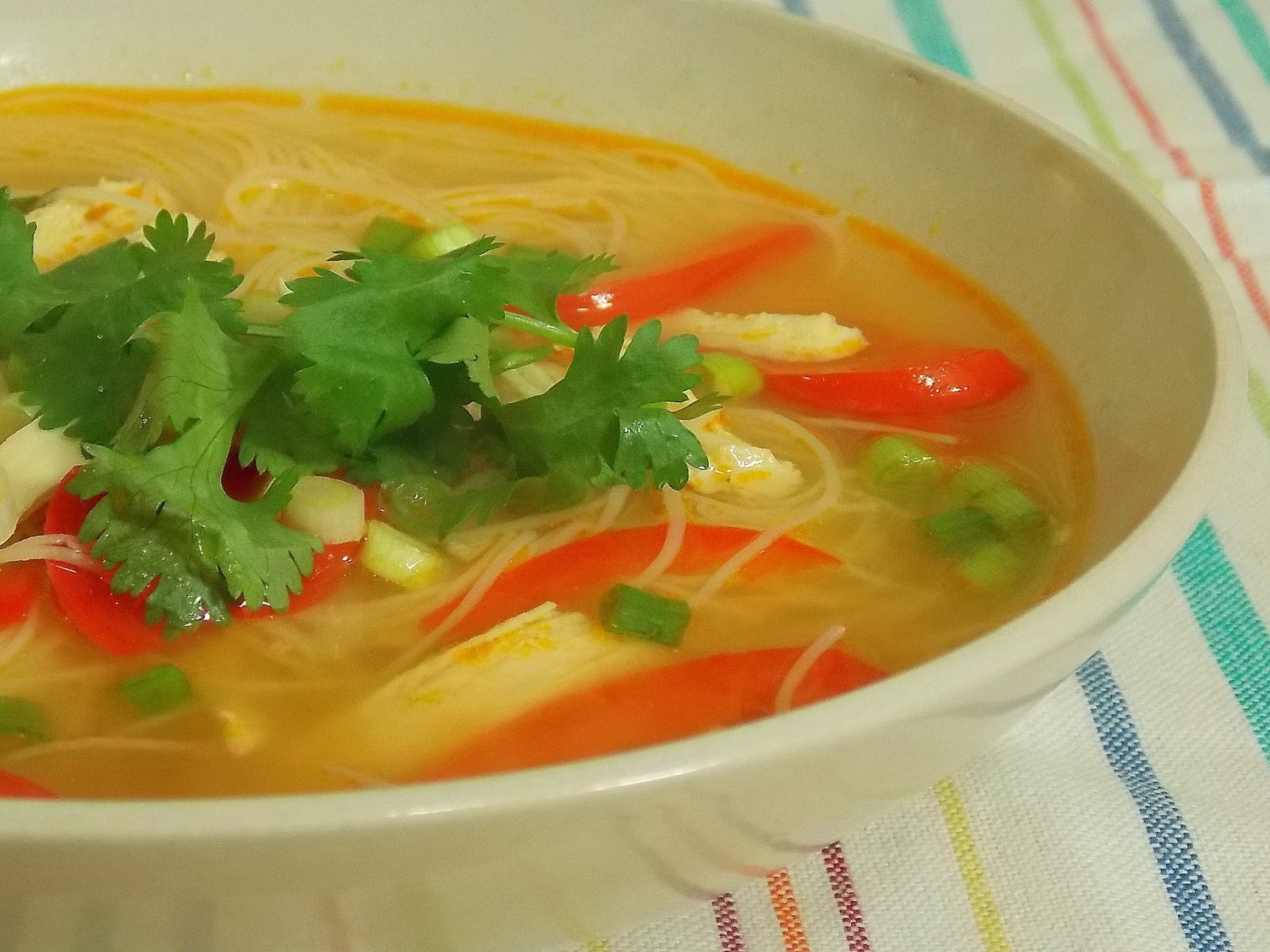 spicy soup Asian